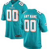 Miami Dolphins NFL Football Jersey For Men, Women, or Youth (Any Name and Number) Refuse You Lose color: White|Green