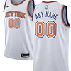 New York Knicks NBA Basketball Jersey For Men, Women, or Youth (Any Name and Number) color: Blue|White  Refuse You Lose