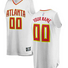 Atlanta Hawks NBA Basketball Jersey For Men, Women, or Youth (Any Name and Number) Refuse You Lose color: Black|White|Red