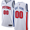 Detroit Pistons NBA Basketball Jersey For Men, Women, or Youth (Any Name and Number) Refuse You Lose color: Blue|Gray|White