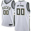Milwaukee Bucks NBA Basketball Jersey For Men, Women, or Youth (Any Name and Number) color: Black|White|Green  Refuse You Lose