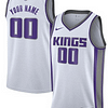 Sacramento Kings NBA Basketball Jersey For Men, Women, or Youth (Any Name and Number) Refuse You Lose color: Black|White|Purple