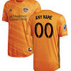 Houston Dynamo MLS Soccer Jersey for Men, Women, or Youth (Any Name and Number) color: 2018 Home|2018 Road|2019 Home|2019 Road  Refuse You Lose
