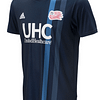 New England Revolution MLS Soccer Jersey for Men, Women, or Youth (Any Name and Number) Refuse You Lose color: 2018 Home|2018 Road|2019 Home|2019 Road