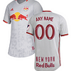 New York Red Bulls MLS Soccer Jersey for Men, Women, or Youth (Any Name and Number) Refuse You Lose color: 2018 Home|2018 Road|2019 Home