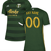 Portland Timbers MLS Soccer Jersey for Men, Women, or Youth (Any Name and Number) color: 2018 Home 2018 Road 2019 Home 2019 Road  Refuse You Lose