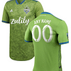 Seattle Sounders FC MLS Soccer Jersey for Men, Women, or Youth (Any Name and Number) Refuse You Lose color: 2018 Home|2018 Road|2019 Home|2019 Road