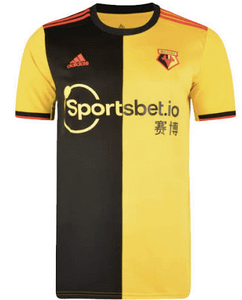 Watford F.C. Soccer Jersey for Men, Women, or Youth (Any Name and Number) Refuse You Lose color: Away Home