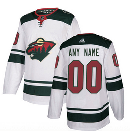 Minnesota Wild NHL Hockey Jersey For Men, Women, or Youth (Any Name and Number) Refuse You Lose color: Away Home
