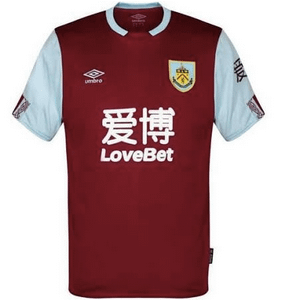 Burnley F.C. Soccer Jersey for Men, Women, or Youth (Any Name and Number) Refuse You Lose color: Away Third Home