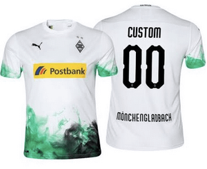Borussia Mönchengladbach Soccer Jersey for Men, Women, or Youth (Any Name and Number) Refuse You Lose color: Away|Third|Home