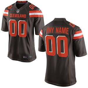 Cleveland Browns NFL Football Jersey For Men, Women, or Youth (Any Name and Number) Refuse You Lose color: White|BROWN|Orange