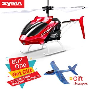 Crash Resistant Remote Control Helicopter For Kids Refuse You Lose color: W25 Red|W25 Yellow|Yellow|Red