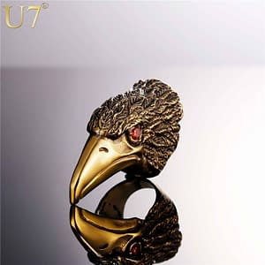 Eagle Ring Refuse You Lose ring-size: 7|8|9|10|11