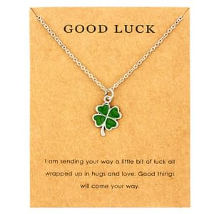Lucky Charm Necklace Refuse You Lose Fine or Fashion: Fashion