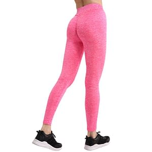 Women's Push Up Sport Elastic Leggings Refuse You Lose color: Pink Size: Large