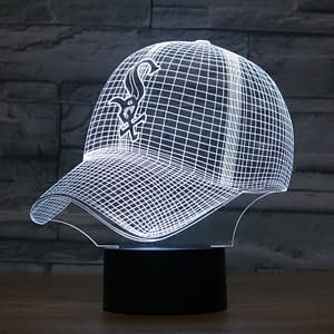 Chicago White Sox Limited Edition Baseball Cap | Lights up in 7 colors! Refuse You Lose Gender: Unisex