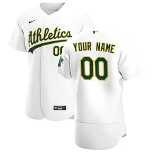 Oakland Athletics MLB Baseball Jersey For Men, Women, or Youth (Any Name and Number) color: 2018 Nickname|2019 Alternate Green 1|2019 Alternate Green 2|2019 Alternate Yellow|2019 Nickname|2020 Alternate Green 1|2020 Alternate Green 2|2020 Home|2020 Road|2019 Home|2019 Road|Memorial Day  Refuse You Lose