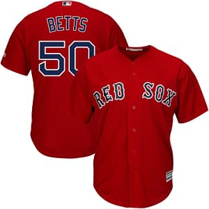 Mookie Betts Baseball Jersey for Men, Women, or Youth color: 2018 Nickname 2019 Nickname Boston Red Sox Alternate Navy Boston Red Sox Alternate Red Boston Red Sox Black Boston Red Sox Home Boston Red Sox Memorial Day Boston Red Sox Road Los Angeles Dodgers Alternate Blue Los Angeles Dodgers Alternate Gray Los Angeles Dodgers Home Los Angeles Dodgers Road  Refuse You Lose