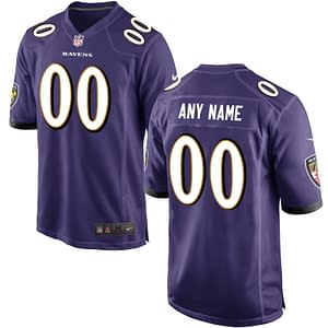 Baltimore Ravens NFL Football Jersey For Men, Women, or Youth (Any Name and Number) Refuse You Lose color: Alternate|Home|Road