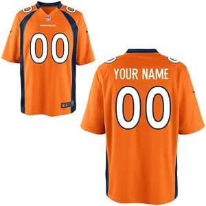 Denver Broncos NFL Football Jersey For Men, Women, or Youth (Any Name and Number) Refuse You Lose color: White|Navy|Orange