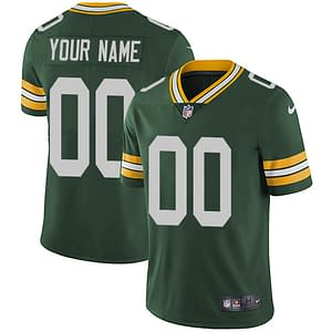 Green Bay Packers NFL Football Jersey For Men, Women, or Youth (Any Name and Number) color: Alternate|White|Green  Refuse You Lose