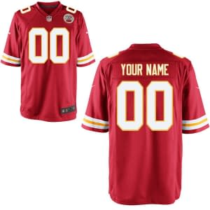 Kansas City Chiefs NFL Football Jersey For Men, Women, or Youth (Any Name and Number) Refuse You Lose color: White|Red