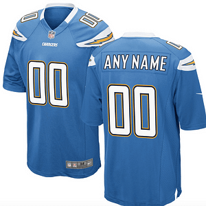 Los Angeles Chargers NFL Football Jersey For Men, Women, or Youth (Any Name and Number) Refuse You Lose color: White|Light Blue|Navy