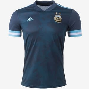 Customizable Argentina Soccer Jersey For Men, Women, or Youth color: 2018-2019 Home|2018-2019 Road|2019-2020 Home|2020-2021 Road  Refuse You Lose