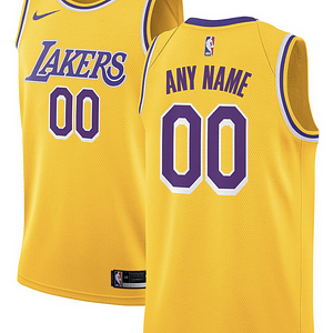 Los Angeles Lakers NBA Basketball Jersey For Men, Women, or Youth (Any Name and Number) color: White|Yellow|Purple  Refuse You Lose