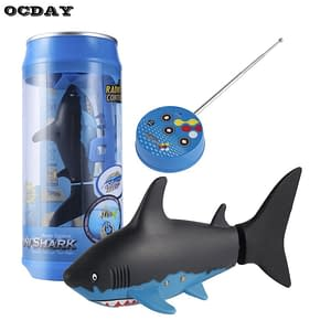 Remote Control Underwater Shark Refuse You Lose color: black and blue|blue and grey
