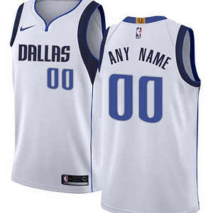 Dallas Mavericks NBA Basketball Jersey For Men, Women, or Youth (Any Name and Number) Refuse You Lose color: Blue|White|Navy