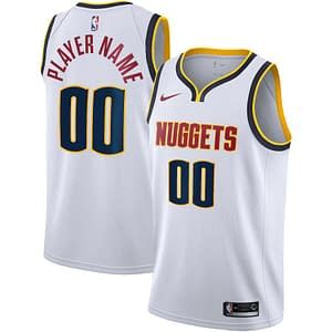 Denver Nuggets Jersey For Men, Women, or Youth   Customizable color: Alternate Blue City Edition Home Road  Refuse You Lose
