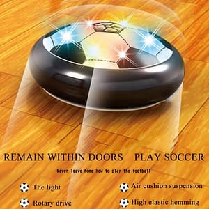 Indoor Soccer Ball Floating Air Disk Refuse You Lose Material: Plastic