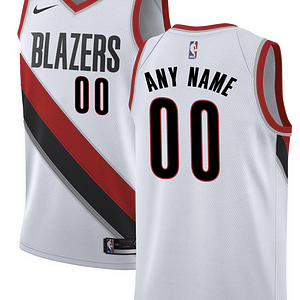 Portland Trail Blazers NBA Basketball Jersey For Men, Women, or Youth (Any Name and Number) Refuse You Lose color: Black|White|Red