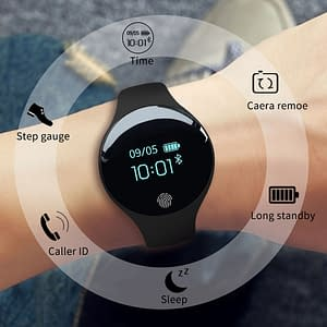 Waterproof Smart Watch Refuse You Lose color: SD01 black|SD01 blue|SD01 green|SD01 orange|SD01 pink|SD02 army green|SD02 colourful|SD02 letter