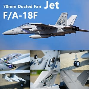 🔥 HUGE 🔥 Remote Control Fighter Airplane F/A-18F Super Hornet Refuse You Lose Aerial Photography: No
