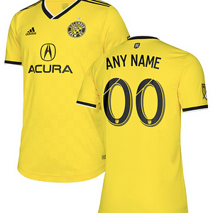 Columbus Crew SC MLS Soccer Jersey for Men, Women, or Youth (Any Name and Number) color: 2019 Home|2019 Road  Refuse You Lose
