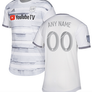 Los Angeles FC MLS Soccer Jersey for Men, Women, or Youth (Any Name and Number) color: 2018 Home|2018 Road|2019 Road  Refuse You Lose