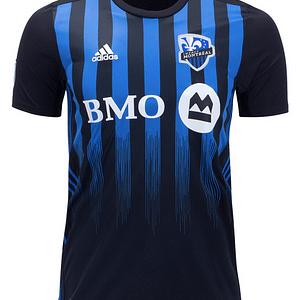 Montreal Impact MLS Soccer Jersey for Men, Women, or Youth (Any Name and Number) color: 2018 Home|2018 Road|2019 Home  Refuse You Lose