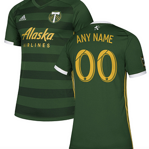 Portland Timbers MLS Soccer Jersey for Men, Women, or Youth (Any Name and Number) color: 2018 Home|2018 Road|2019 Home|2019 Road  Refuse You Lose