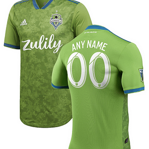 Seattle Sounders FC MLS Soccer Jersey for Men, Women, or Youth (Any Name and Number) Refuse You Lose color: 2018 Home 2018 Road 2019 Home 2019 Road
