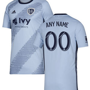 Sporting Kansas City MLS Soccer Jersey for Men, Women, or Youth (Any Name and Number) color: 2018 Home|2018 Road|2019 Home  Refuse You Lose
