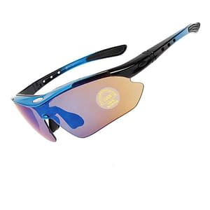 Polarized Cycling Sunglasses Refuse You Lose color: Black|Blue|White|Red