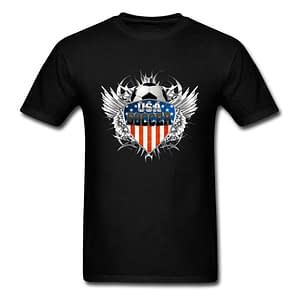USA Soccer T-Shirt | Multiple Colors and Designs Refuse You Lose color: Beige|Black|Blank White T Shirt|Blue|Chest Print Beige|Chest Print Black|Chest Print Blue|Chest Print DarkGray|Chest Print Gray|Chest Print Green|Chest Print Maroon|Chest Print Navy|Chest Print Red|Chest Print White|Chest Print Yellow|ChestPrint DarkGreen|ChestPrint LightBlue|Dark Gray|Red|Gray|Maroon|Pink|White|Yellow|Dark Green|Green|Light Blue|Navy|Orange|Purple