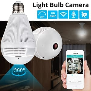 Smart Light Bulb Camera types: Camera Lightbulb|Cam Lightbulb + 16GB Card|Cam Lightbulb + 32GB Card  Refuse You Lose