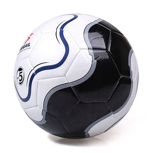 Size 5 Football Training Ball Refuse You Lose color: White