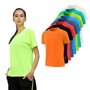 Women's Short Sleeve Slim Sports T-Shirt with Quick Dry Technology Refuse You Lose type-1: 1|2|3|4|5|6|7|8