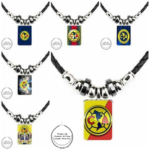 Club America Soccer Necklace metal-color: as picture|as picture|as picture|as picture|as picture|as picture|as picture|as picture|as picture|as picture|as picture  Refuse You Lose