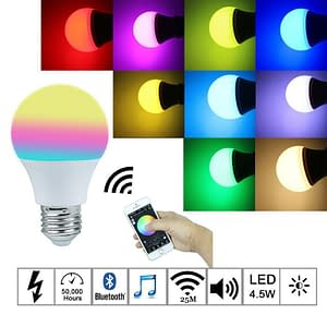 Magic Bluetooth LED Light Bulb Refuse You Lose brand: Refuse You Lose